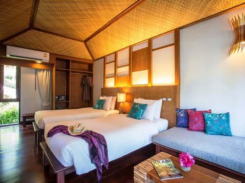 Komfortables Zimmer im Krabi Hotel