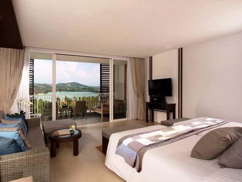 Modernes Zimmer im Hotel auf Phuket