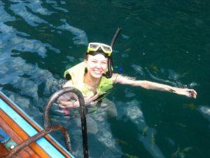 Reisespezialistin Marie Simkes
