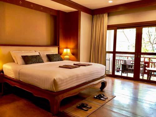 Ihr komfortables Zimmer in Ihrem Hotel in Chiang Mai