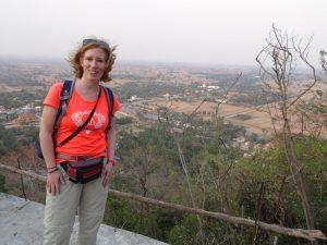 Blick auf die Umgebung von Battambang
