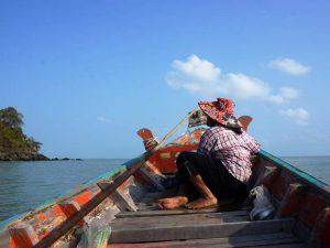 Longtailboot bei Khanom