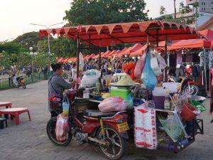 Garküche in Vientiane