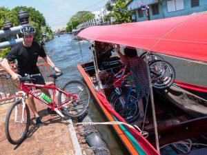 Radtour durch Bangkok entlang der Khlongs