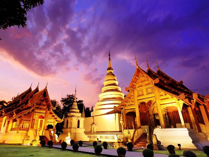 Ihre Tour führt Sie vorbei an prächtigen Tempeln