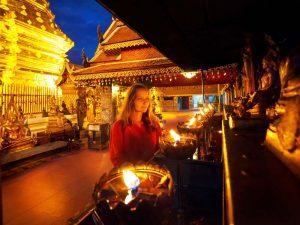 Ausflug von Chiang Mai zum Doi Suthep Thailand