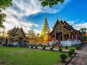Thailand Sightseeing Tempel Chiang Mai