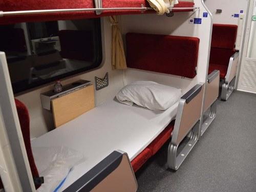 Schlafplatz Nachtzug Thailand Rundreise