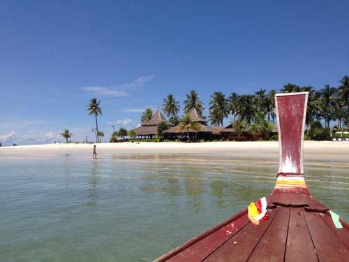 Anreise mit dem Boot auf Koh Mook