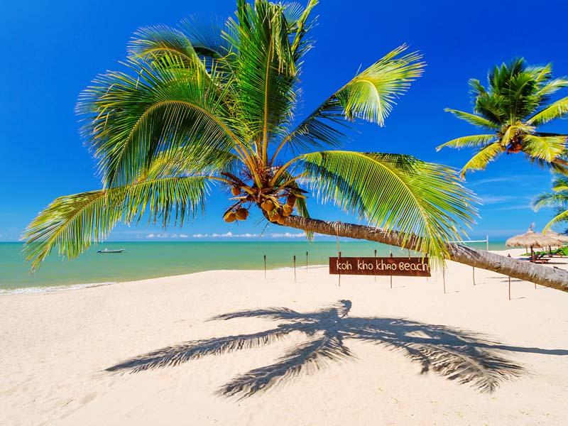Koh Kho Khao Thailand Insel Andamanensee