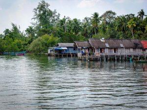 Fischerdorf auf Koh Phra Thong