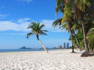 Strand in Hua Hin, Thailand