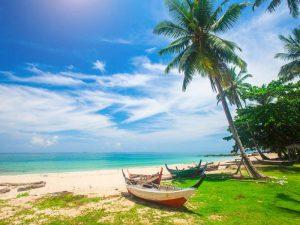 Strand auf Koh Lanta bei Thailand Urlaub