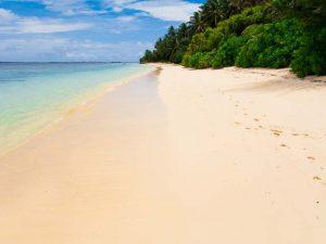 Feinsandiger Strand auf Koh Phayam