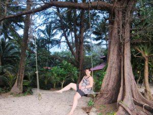Am Strand von Koh Phayam relaxen