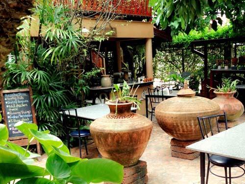 Restaurantbereich der Unterkunft in Sukhothai