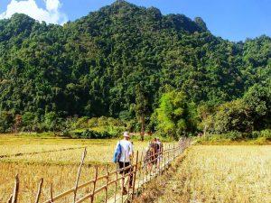 Trekking in Vang Vieng Laos