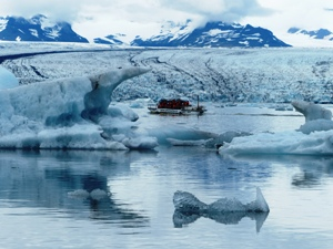 Eintauchen in das Eismeer