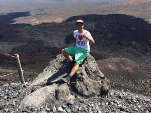 Vulkanwanderung