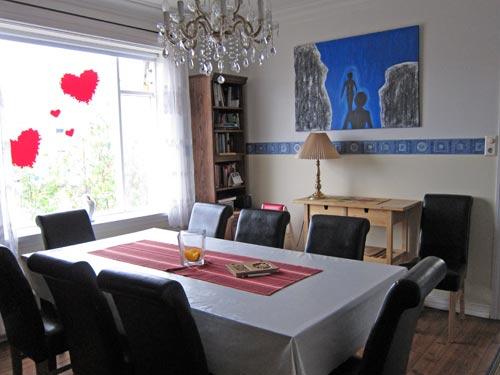 Aufenthaltsraum in einem Hotel in Akureyri