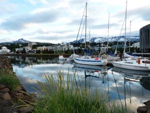 Hafen in Akureyri