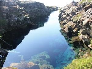 Die Thingvellir-Schlucht gehört zum UNESCO Welterbe