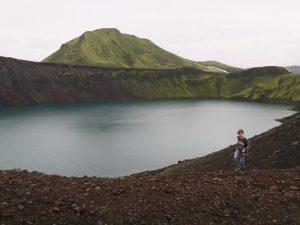 Wanderung am Kratersee