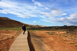 Mývatn auf Wanderpfaden erkunden