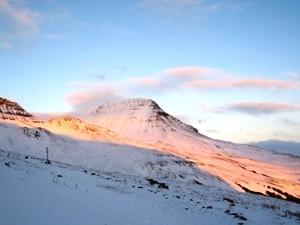 Auf der Fahrt nachHveragerði zur Island Reittour