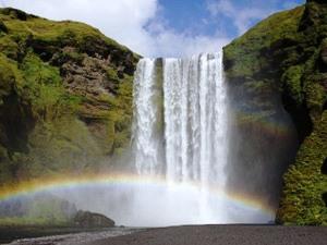 Skogafoss - Wasserfall in Island