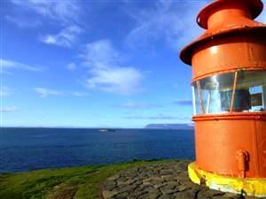 Wandern auf Snaefellsnes zum gelben Leuchtturm