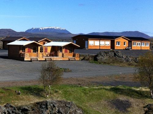 Ihre Unterkunft am Mývatn See