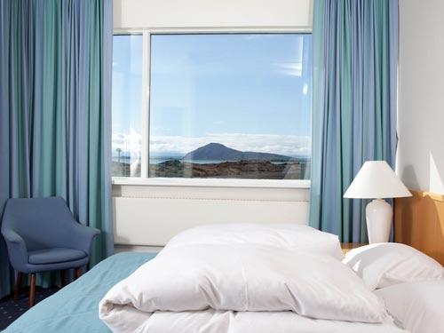 Hochland Island Zimmer Ihrer Unterkunft der Mývatn Region