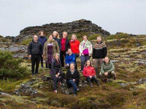 Team unserer Partneragentur in Island