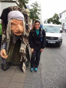 Kundin in Reykjavik