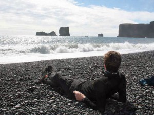 Island Urlaub Island-Kap-Dyrholaey-Südisland-entspannen-Meer-Strand