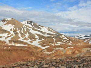 Rhyolith-Berge in Island