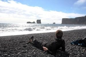 Island Gruppenreise: das Kap Dyrholaey