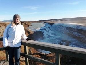 Besuchen sie den Gullfoss Wasserfall