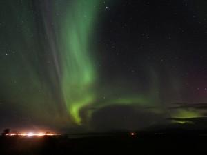 Nordlicht bei einer Island Reise Thingvellir
