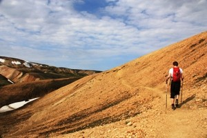 Island - Wanderung durch Landmannalaugar