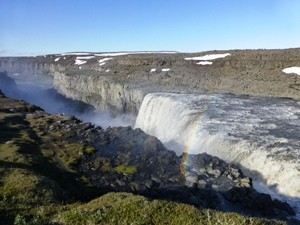 Wasserfall Dettifoss in Island