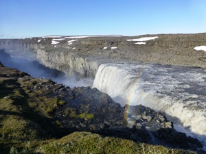 Island Urlaub Island-Myvatn-Dettifoss-Wasserfall