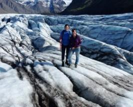 Wanderung über den Gletscher