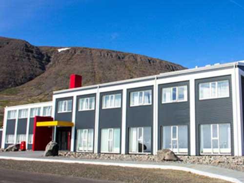 Hotel in Reykholt bei einer Island Reise