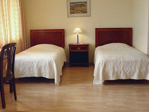Islandreise - Hotelzimmer in Reykholt
