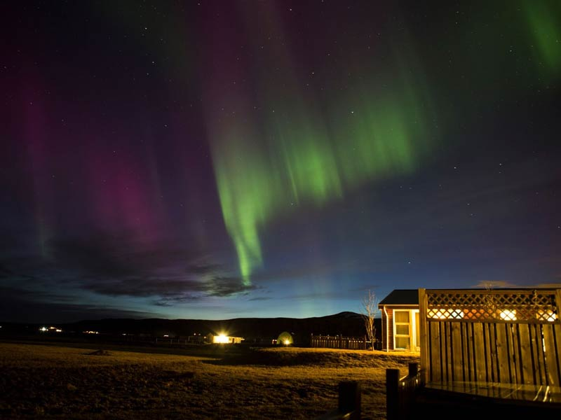 Warum nach Island reisen? Polarlichter in Thingvellir in Island