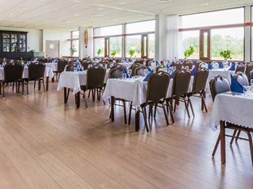 Restaurant im Hotel in Westisland