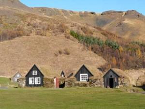Grasoden Häuschen in Südisland