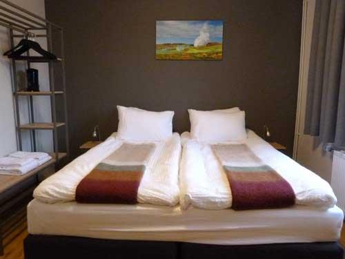 Zimmer im Hotel in der Nähe des Flughafens in Keflavik